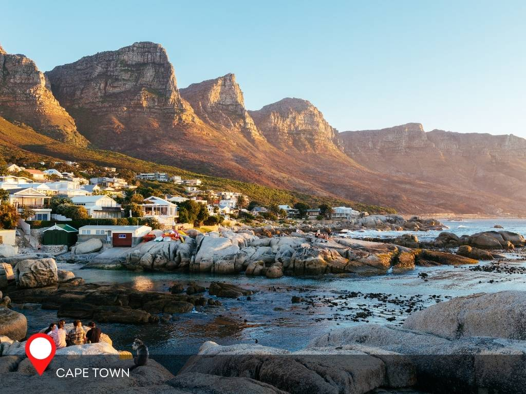 cape town, best place to go on vacation