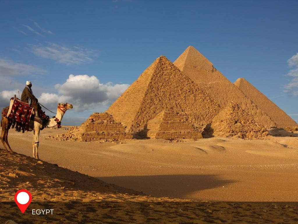 egypt, best place to go on vacation