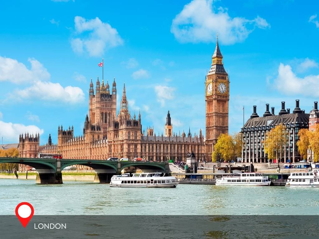 london, best place to go on vacation