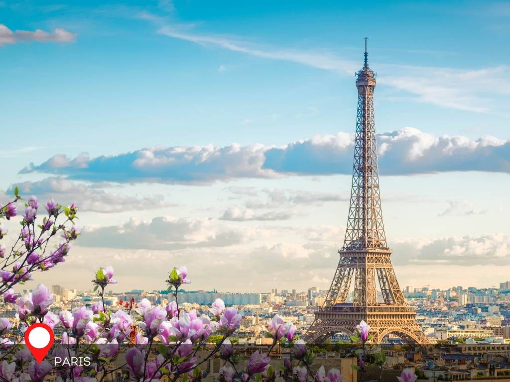paris, best place to go on vacation