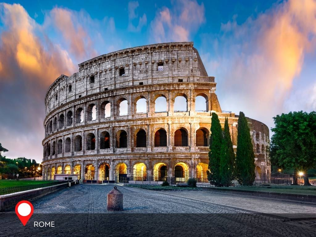 rome, best place to go on vacation