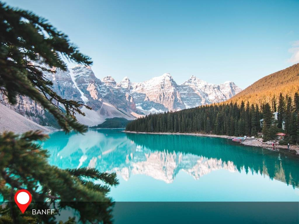 banff, best place to go on vacation