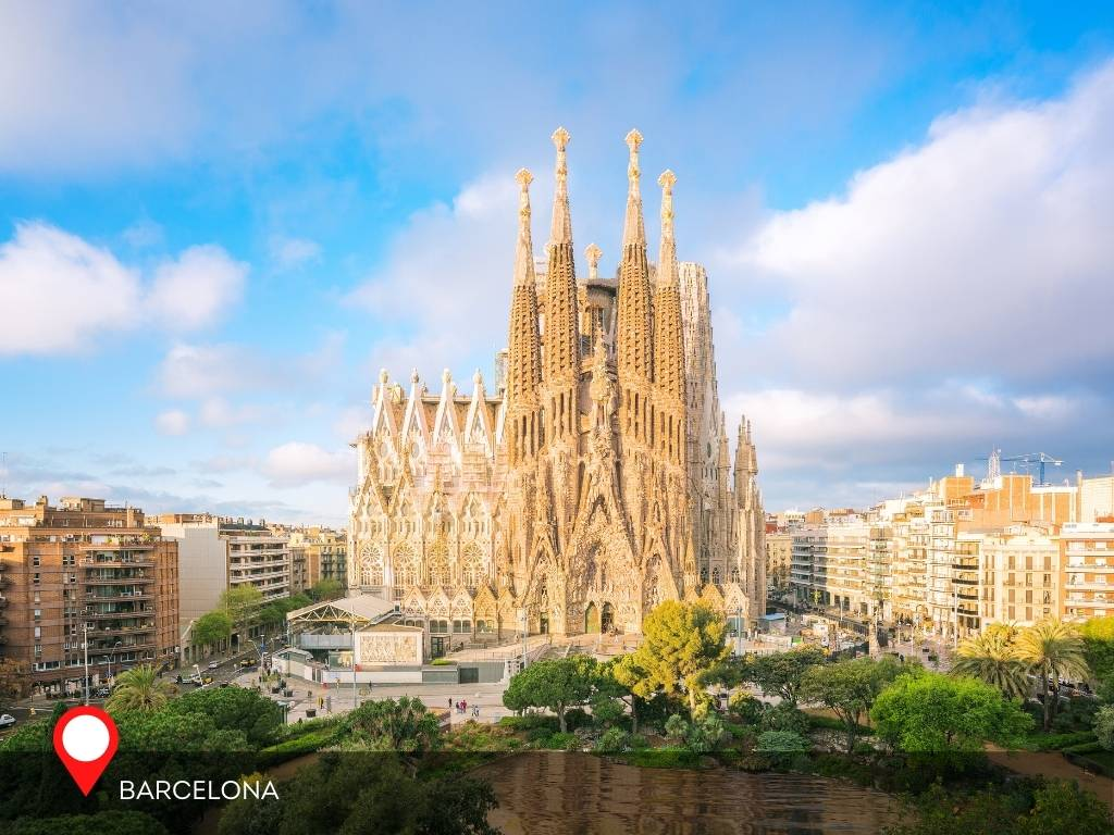 barcelona, best place to go on vacation