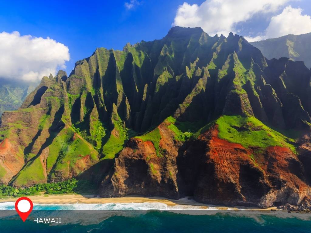 hawaii, best place to go on vacation