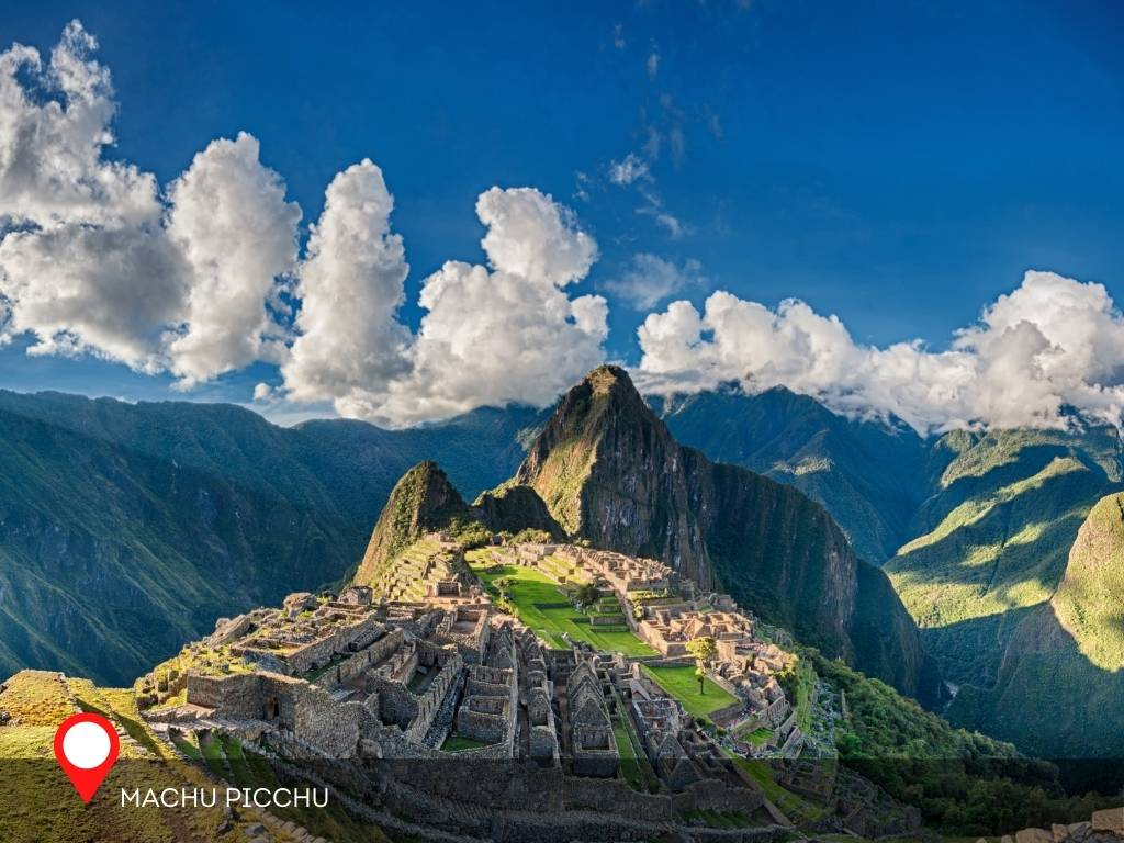 machu pichu, best place to go on vacation
