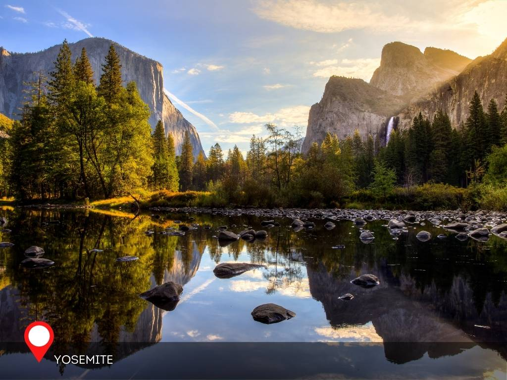 yosemite, best place to go on vacation