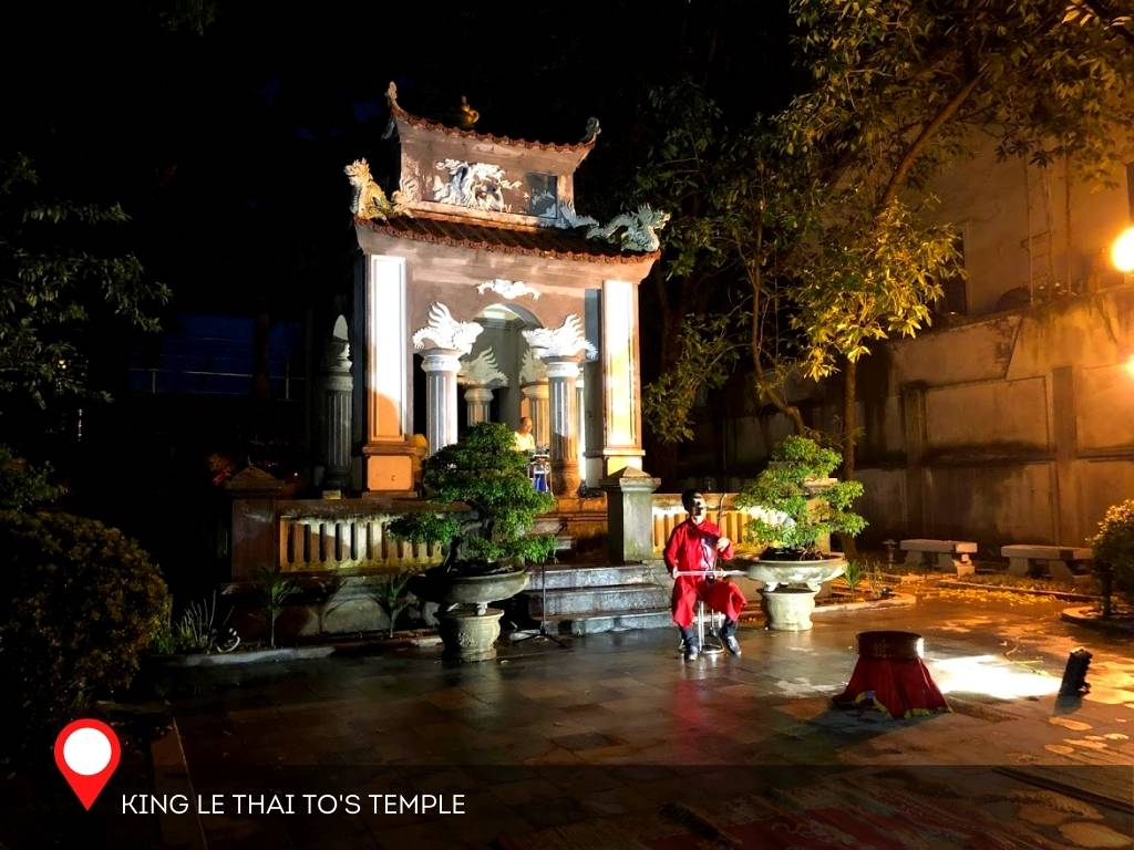 King Le Thai To's Temple