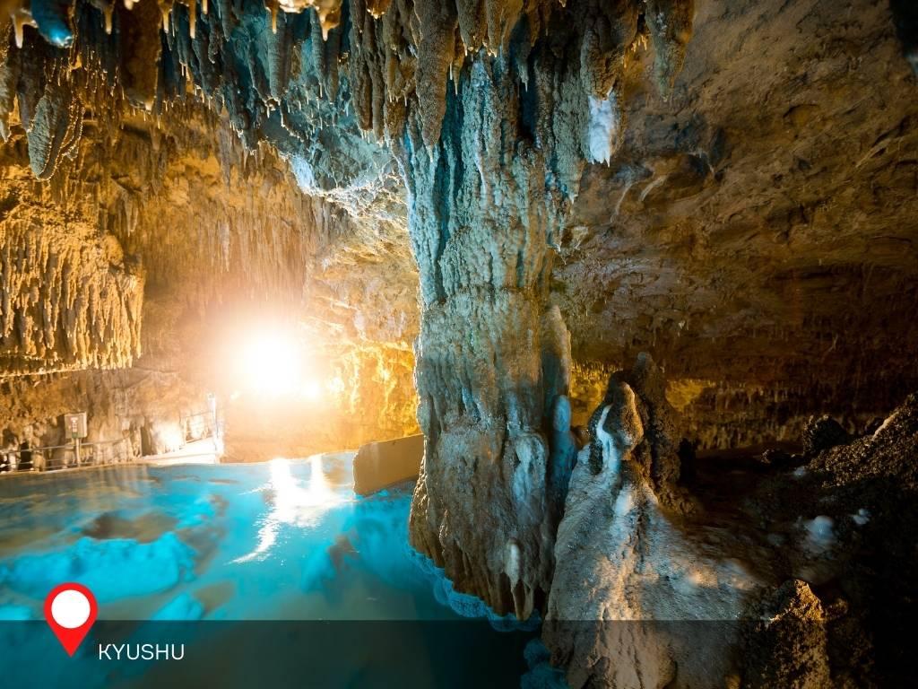 Blue Fountain, Gyukusendo Cave, Okinawa, Japan