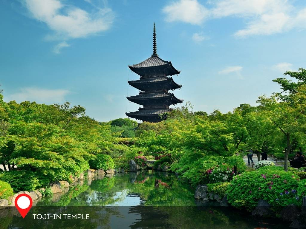 Toji-in Temple and Garden, Kyoto, Japan