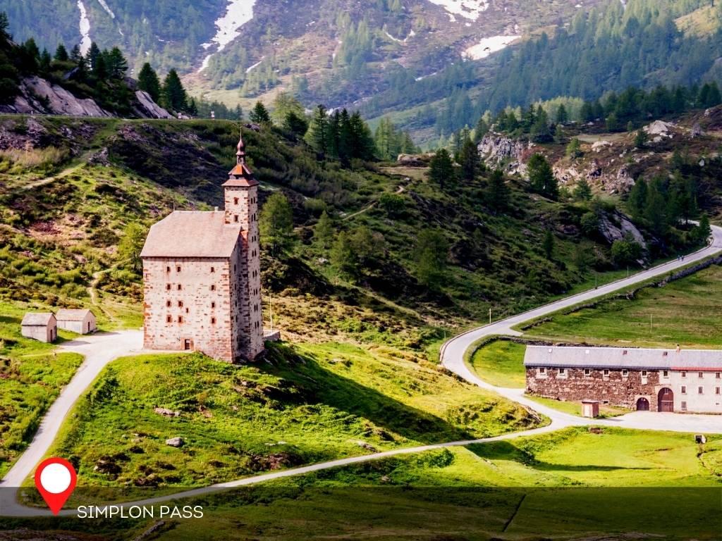 Altes Spittel, Simplon Pass, Brig, Switzerland