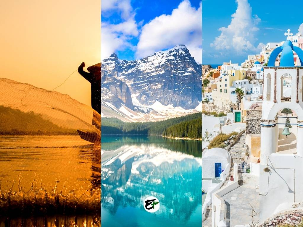 Destinations - Best Countries for Vacation