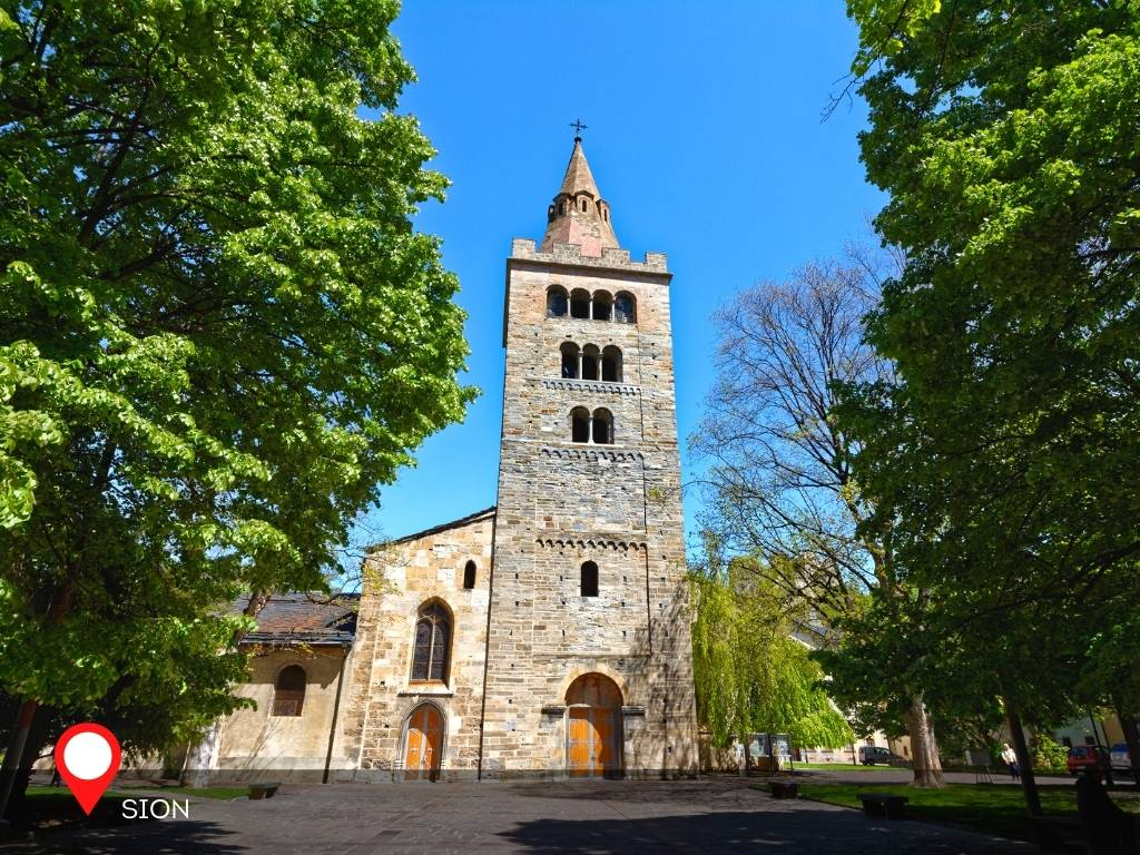 Sion Cathedral, Sion, Switzerland