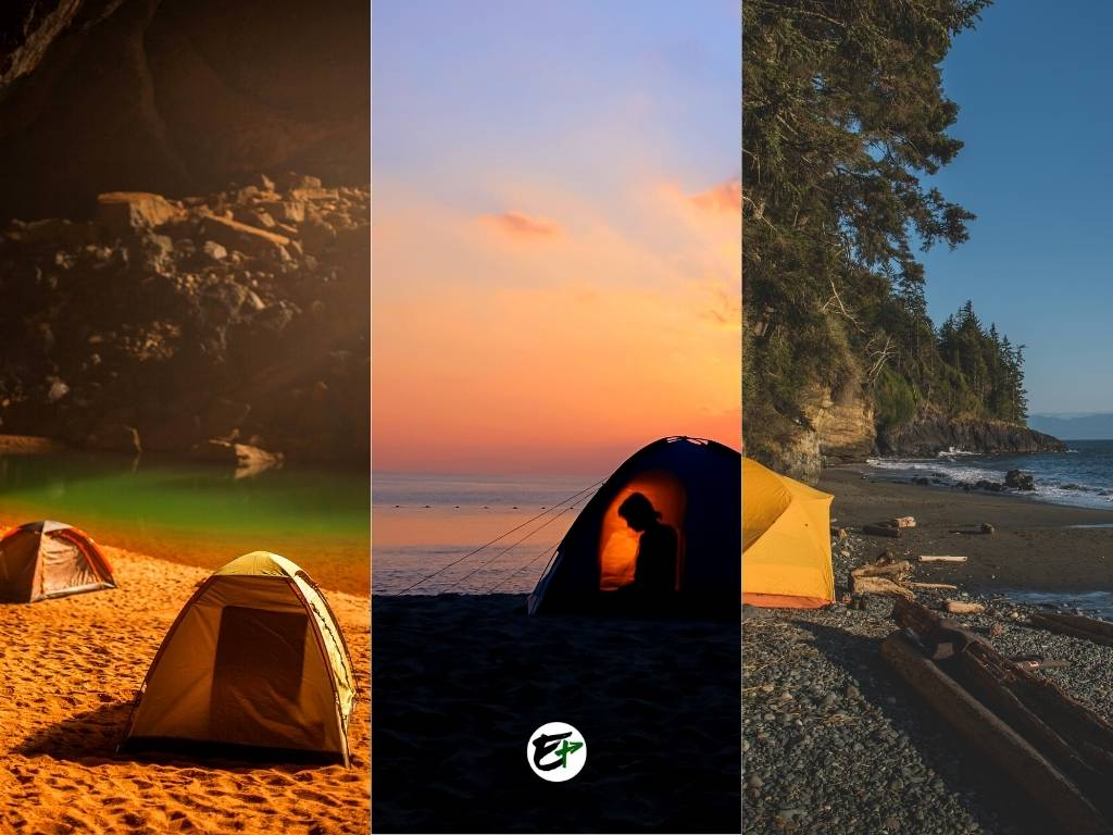 Tips - Camping on a Beach