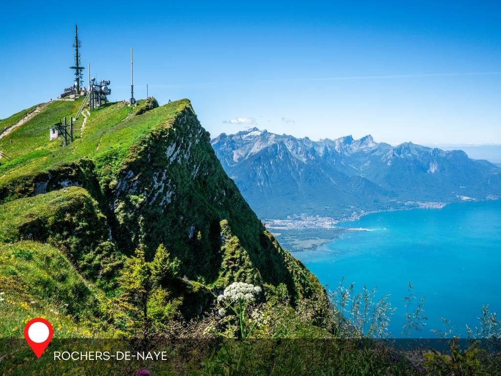 View From Rochers-De-Naye, Montreux, Switzerland