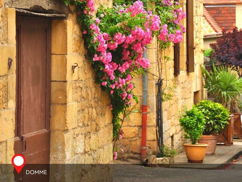 houses, Domme, France