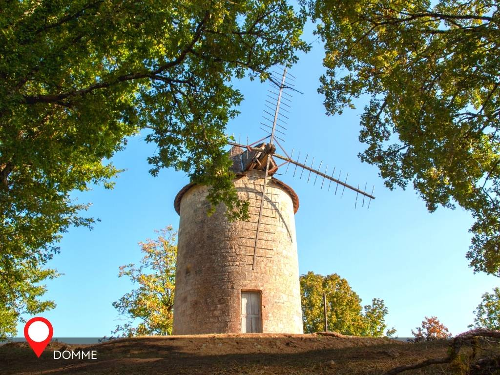 windmill, Domme, France