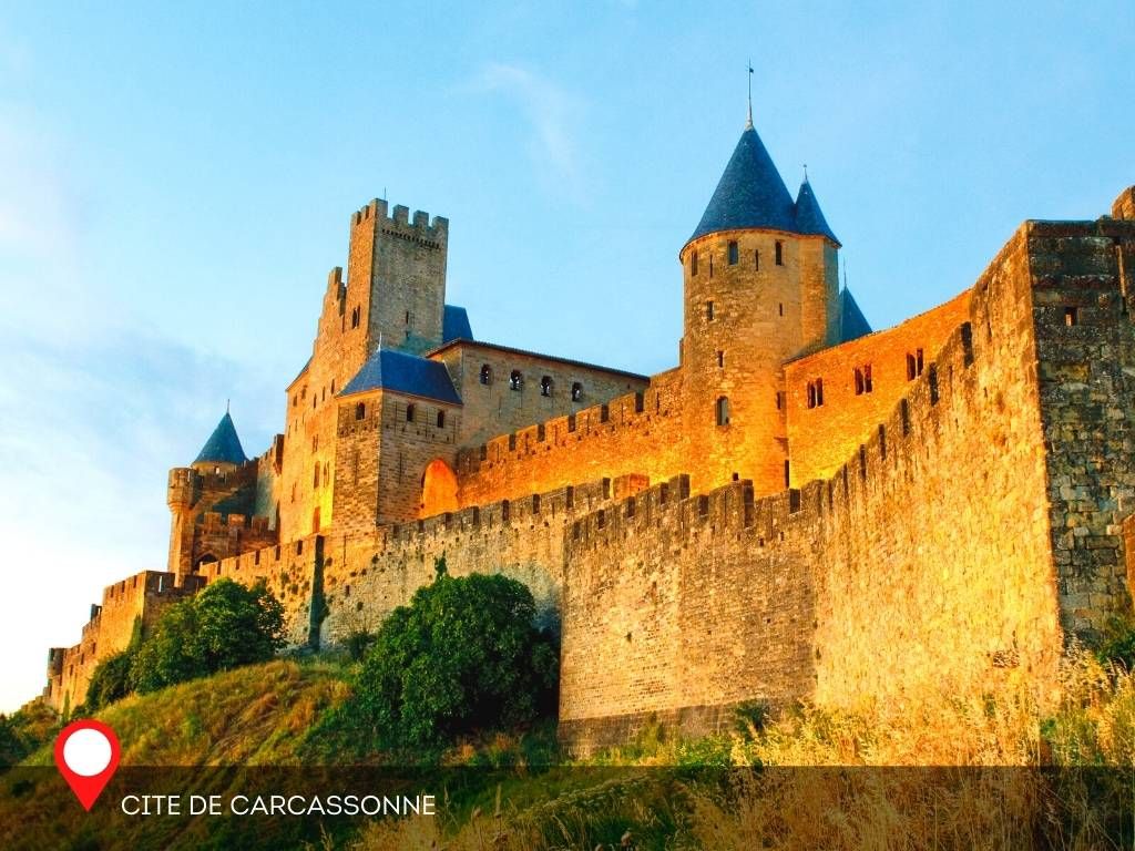 medieval, Carcassonne, France