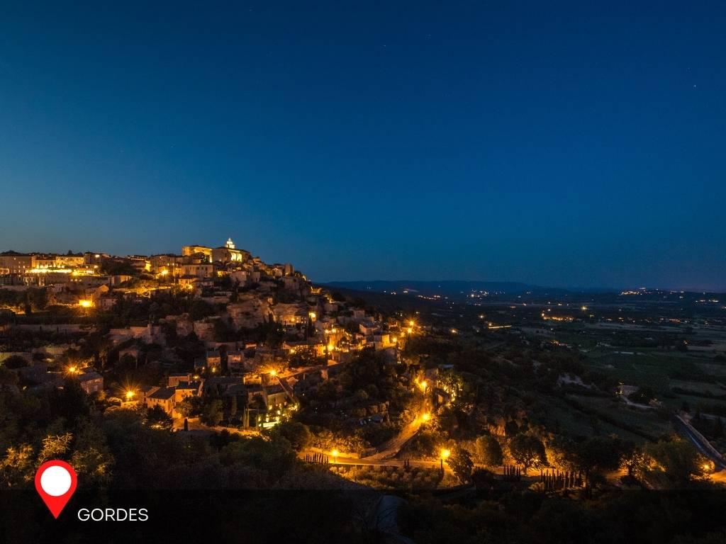 Night View, Gordes, France