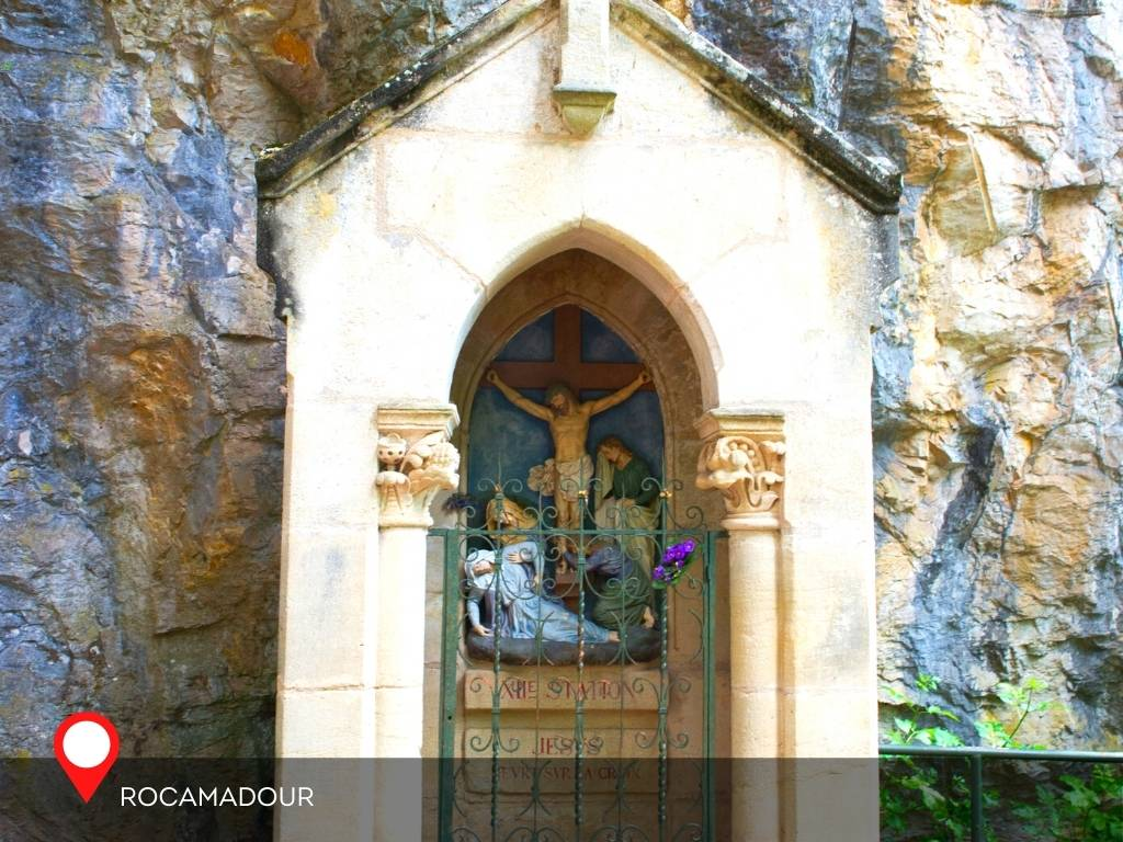 Stations of the cross, Rocamadour France