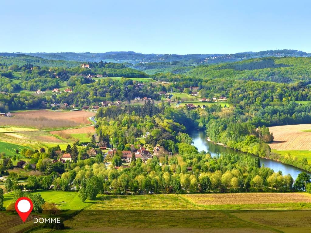 viewpoint, Domme, France