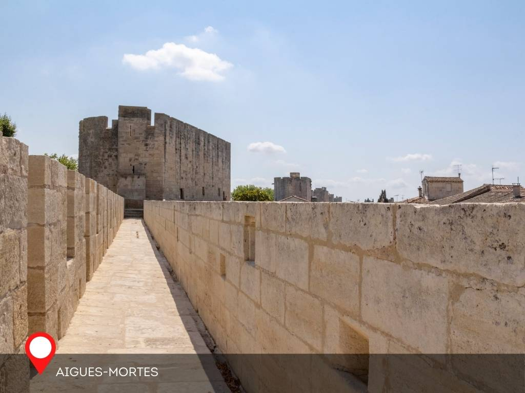 Ramparts of Aigues-Mortes, France
