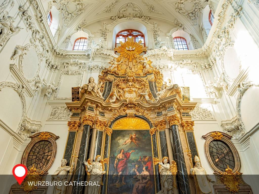 Alter, Wurzburg Cathedral, Germany