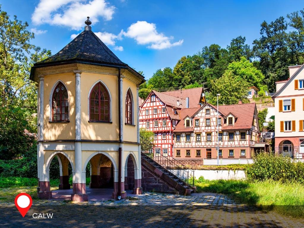 Calw, Black Forest, Germany