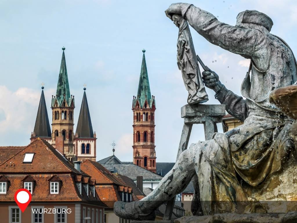 Old Town, Wurzburg, Germany