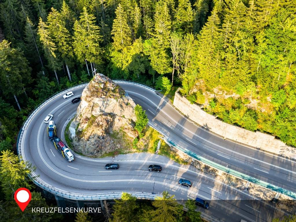 Hairpin Turn, Black Forest, Germany