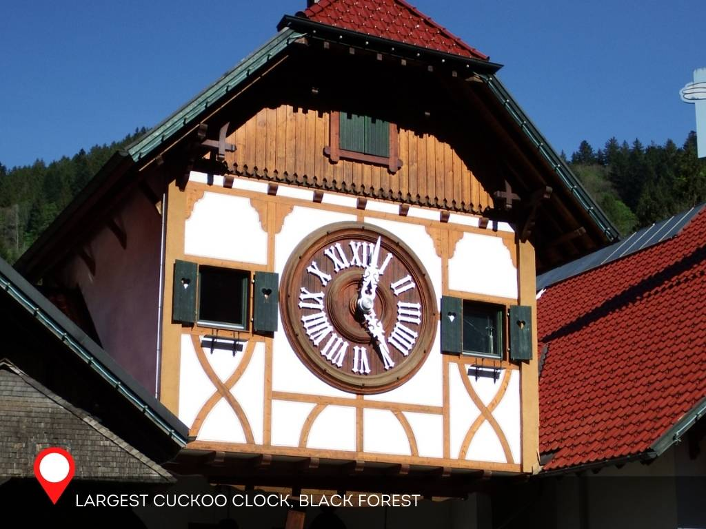 Largest Cuckoo Clock, Black Forest, Germany