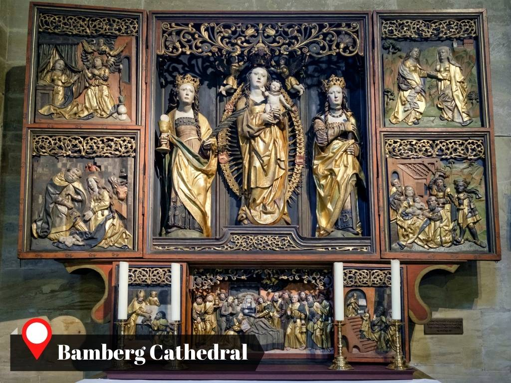 Altar, Bamberg Cathedral, Germany