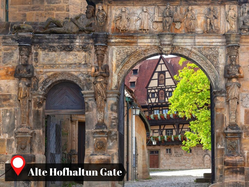 Bamberg's Old Court Gate, Germany