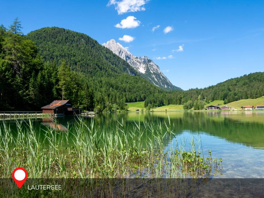 Lautersee, Mittenwald, Germany