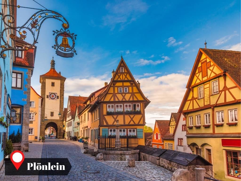 Plonlein, Rothenburg, Germany