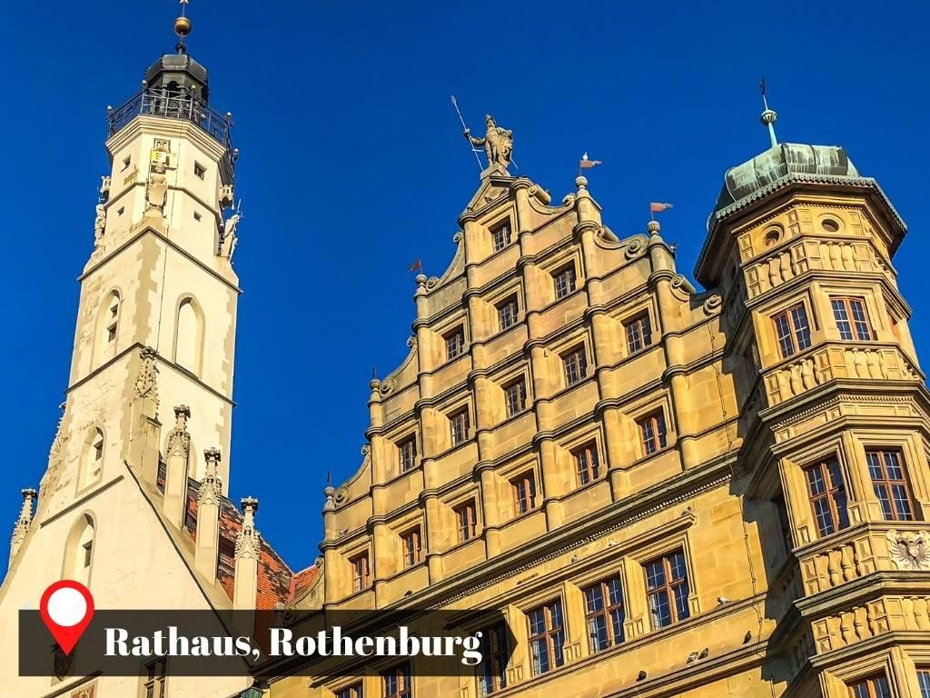 Rathaus, Rothenburg, Germany