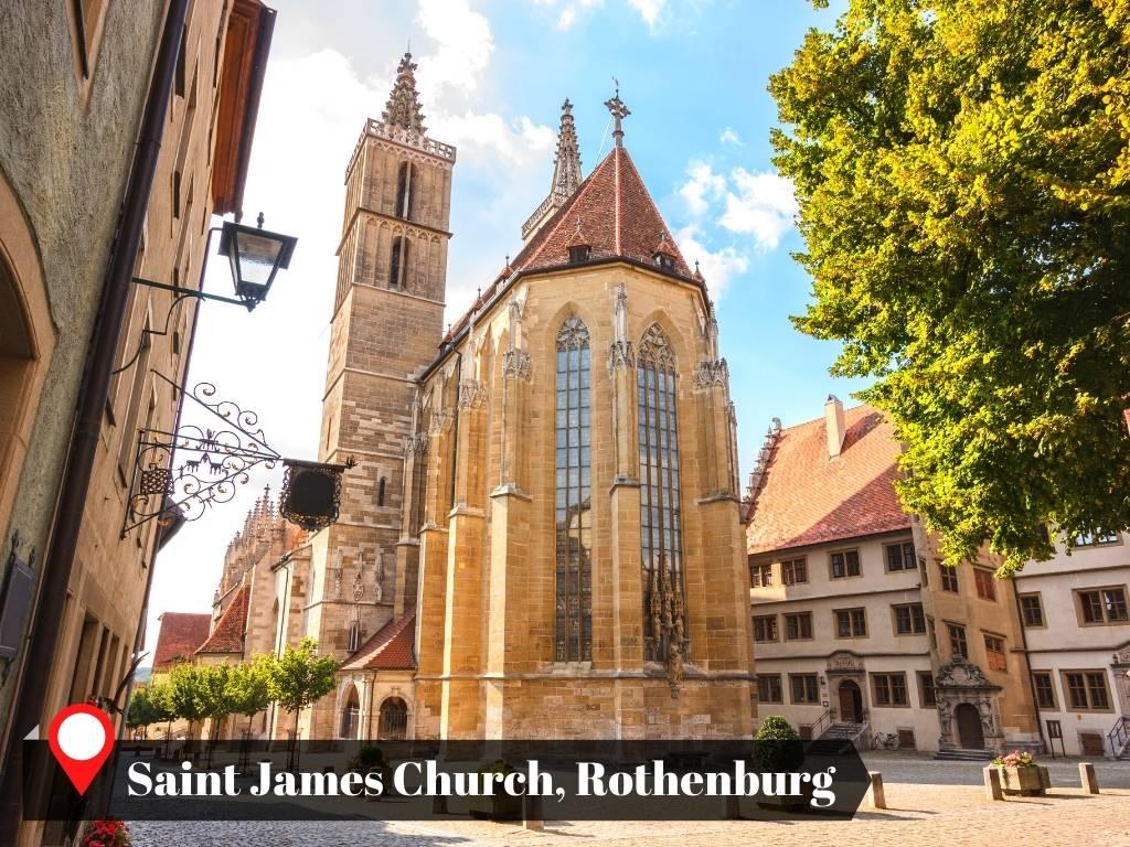 Saint James Church, Rothenburg, Germany