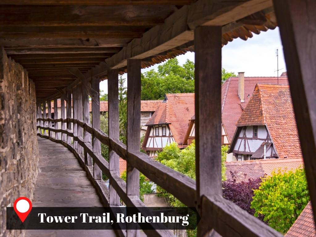 Tower Trail, Rothenburg, Germany