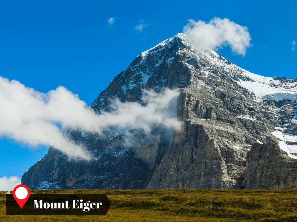 North Face, Mount Eiger, Swiss Alps